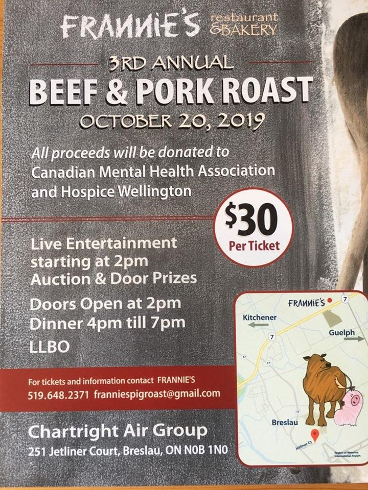 3rd Annual Beef & Pork Roast